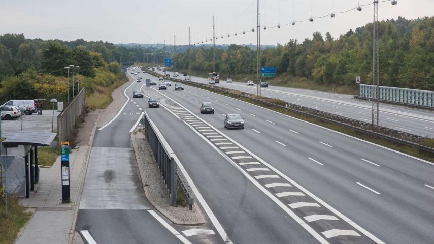 Nærum ved motorvejen