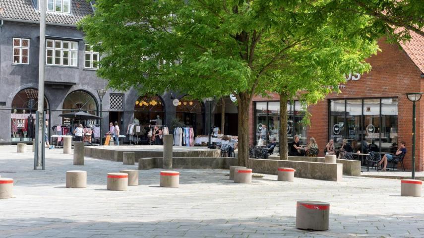 Dekorativt: Birkerød Hovedgade