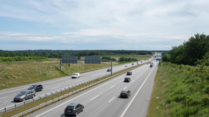 Dekorativt: Motorvej