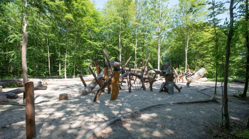 Dekorativt: Naturlegeplads Skodsborg